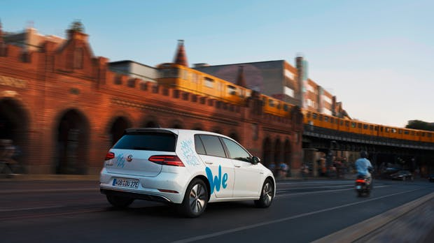 We Share: VW startet Testphase für E-Carsharing-Dienst in Berlin