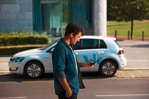 We Share ab April 2019 in Berlin: Volkswagen startet mit E-Auto-Carsharing