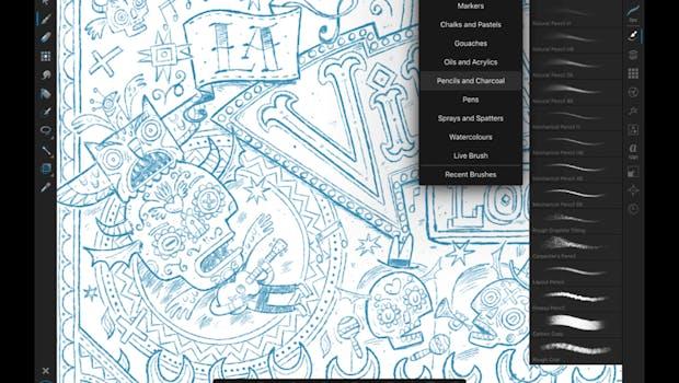 Affinity Designer für das iPad. (Screenshot: Serif)