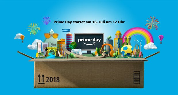 Amazon-Prime-Day-2018 in Deutschland: Alle Informationen im Überblick
