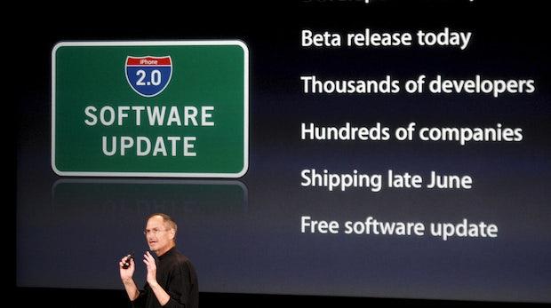 Der App-Store wird 10: Die Triebfeder der Smartphone-Revolution