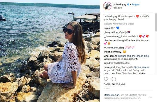 """""""Recht auf freie Meinungsäußerung"""" – dafür kämpft Instagram-Influencerin Cathy Hummels"""
