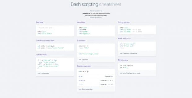 Devhints: Eine Sammlung an Entwickler-Cheat-Sheets