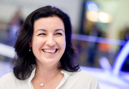"""Digitalministerin Dorothee Bär: """"Einfach stehenbleiben, irgendwann schwenken die schon auf unsere Linie ein"""""""