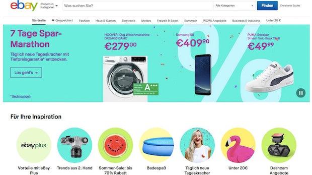 Ebay attackiert Amazon mit Tiefpreisgarantie: Schnäppchen und Deals am 16. Juli