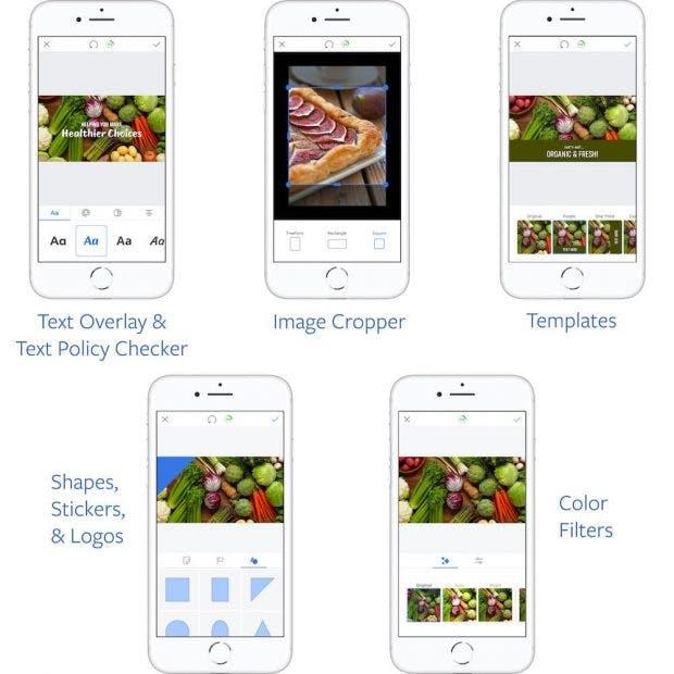 Mit dem Werbeanzeigenmanager könnt ihr jetzt auch unterwegs Facebook-Anzeigen erstellen. (Grafik: Facebook)