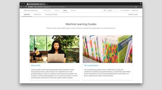 Schritt-für-Schritt-Anleitung von Google: So steigst du tiefer in Machine Learning ein