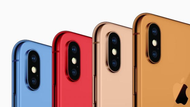 Das 6,1-Zoll-iPhone soll in neuen Farben erscheinen. (Bild: 9to5Mac)