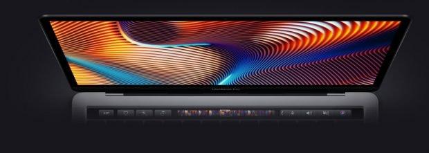 Das neue Macbook Pro 2018 kommt mit True-Tone-Display (Bild: Apple)