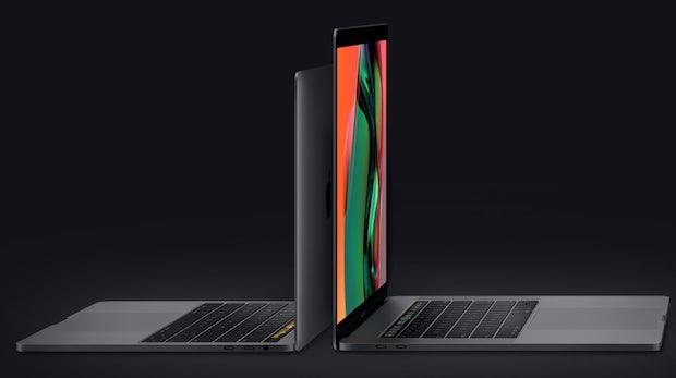 Macbook Pro bald auch mit Radeon Pro Vega: Bis zu 60 Prozent mehr Grafikleistung
