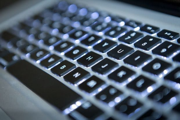 Apple Macbook Pro Tastatur. (Foto: dpa)