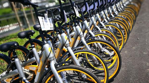 Obike: Fahrrad-Startup hinterlässt Schulden und tausende gelbe Räder