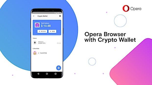 Opera kündigt ersten Browser mit integrierter Krypto-Wallet an