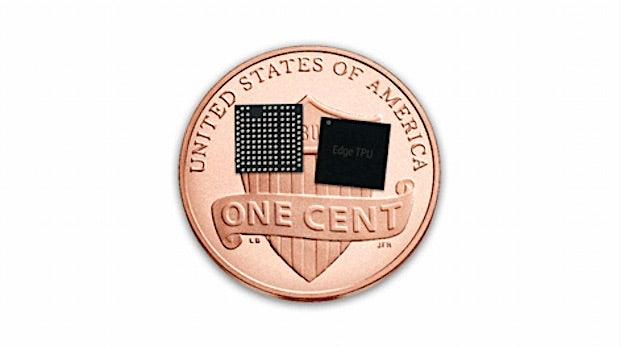 Edge-TPU: Google baut winzigen KI-Chip für Enterprise-Geräte