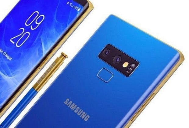 Der S Pen soll beim Samsung Galaxy Note 9 neue Funktionen erhalten. (Bild : GSM Arena)