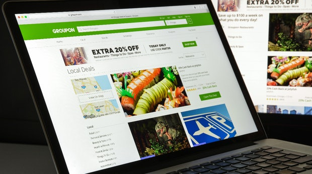 Nach erstem Jahresgewinn: Gutscheinportal Groupon steht vor dem Verkauf