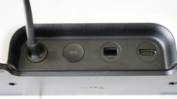 Die Anschlüsse der Sonos Beam. (Foto: t3n.de)