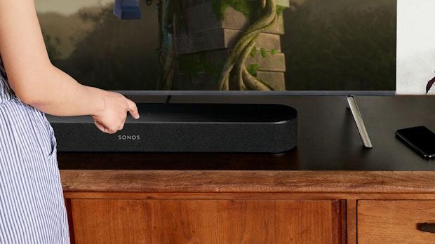 Sonos Beam im Test: Sprachgesteuerte Soundbar mit gutem Klang