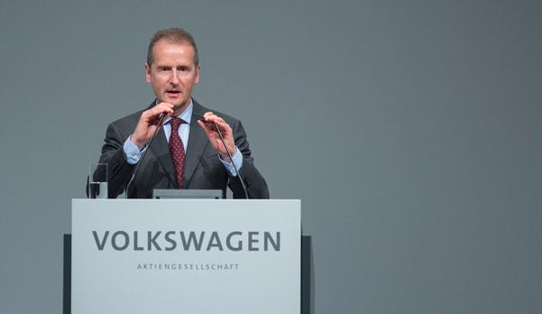 VW-Chef: Ford-Kooperation zur Elektroplattform auf der Zielgeraden