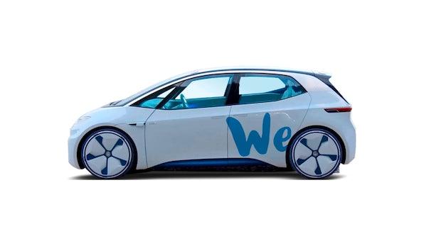 Vollelektrisch: Volkswagen kündigt eigenen Carsharing-Dienst an