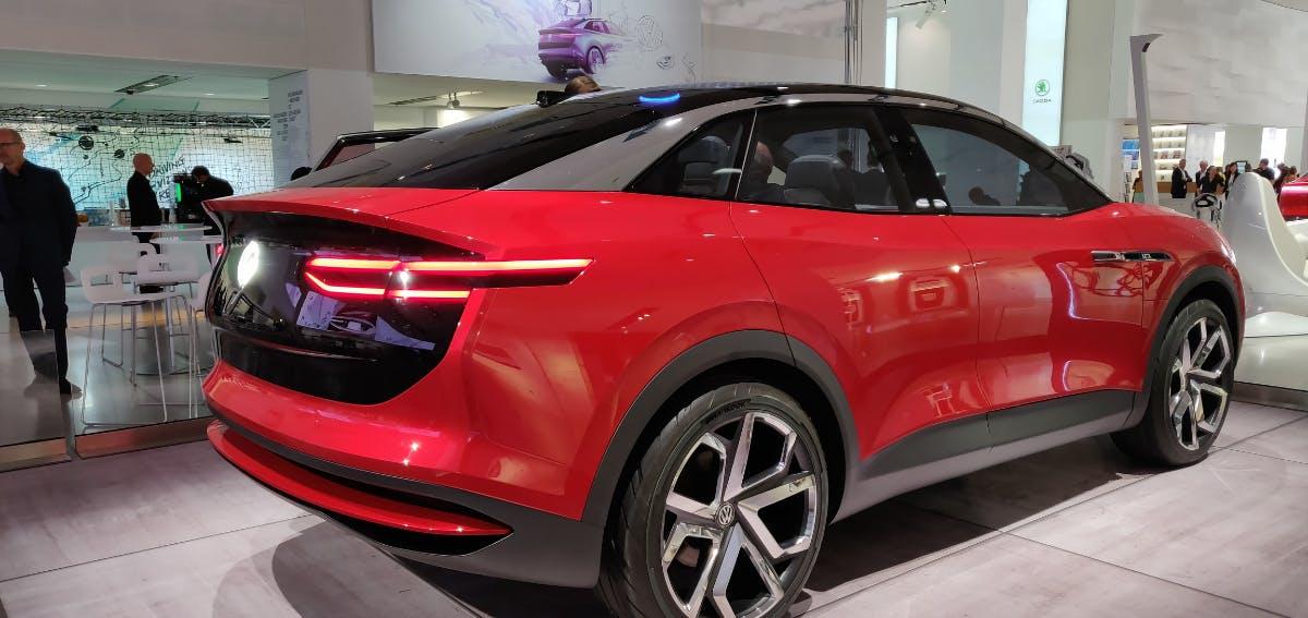 Prototyp des VW ID Crozz. (Foto: t3n)