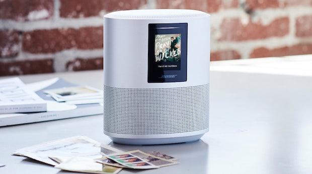 home speaker 500 bose stellt smarten lautsprecher mit. Black Bedroom Furniture Sets. Home Design Ideas