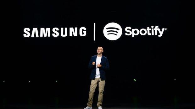 Samsung bringt die Spotify-App auf alle seine Geräte