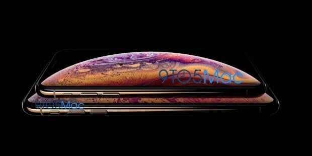 Laut 9to5 Mac wird Gold eine der neuen Farben des iPhone Xs werden. Laut Website handelt es sich bei dem Bild um kein Mockup, sondern um offizielles Pressematerial. (Bild: 9to5Mac)