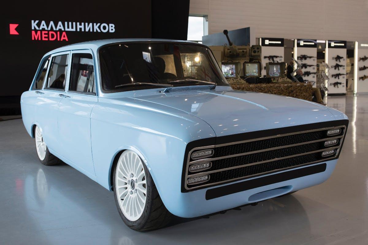 Elektroauto-Konzept CV-1 von Kalaschnikow. (Bild: Kalaschnikow)