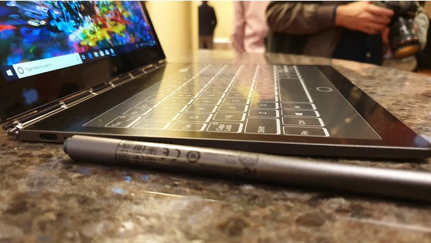 Lenovo Yogabook C930. (Bild: t3n.de)