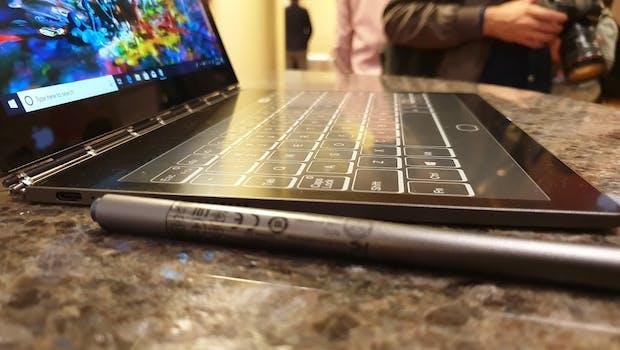 Ultrakompaktes Dual-Display-Notebook mit E-Ink-Panel – Yogabook C930