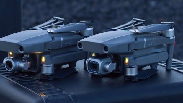 Mavic 2 Pro: DJI bringt neue faltbare Drohne mit Hasselblad-Kamera