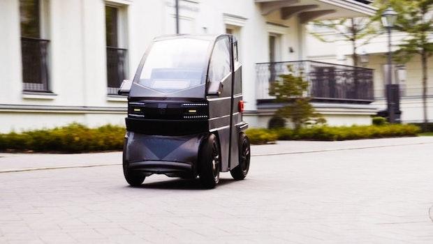 Mini-Elektroauto iEV X. (Bild: iEV1 GmbH)