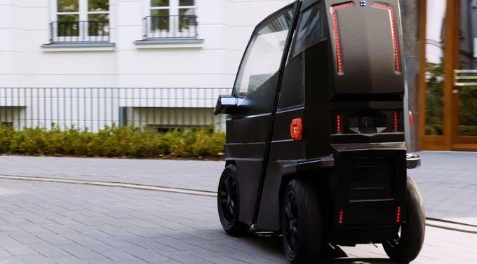 Mini-Elektroauto iEV X lässt sich ausziehen und soll 2019 erscheinen