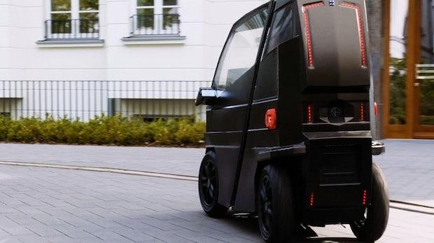 iev x dieses mini elektroauto l sst sich ausziehen und soll 2019 erscheinen. Black Bedroom Furniture Sets. Home Design Ideas