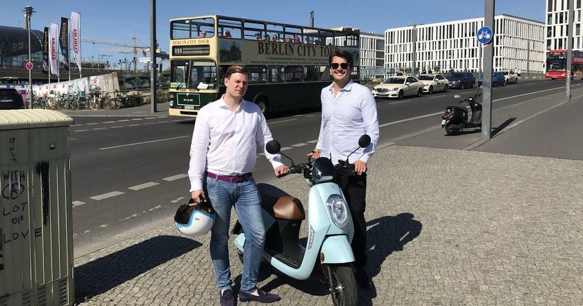 simple e scooter startup aus berlin baut elektroroller. Black Bedroom Furniture Sets. Home Design Ideas