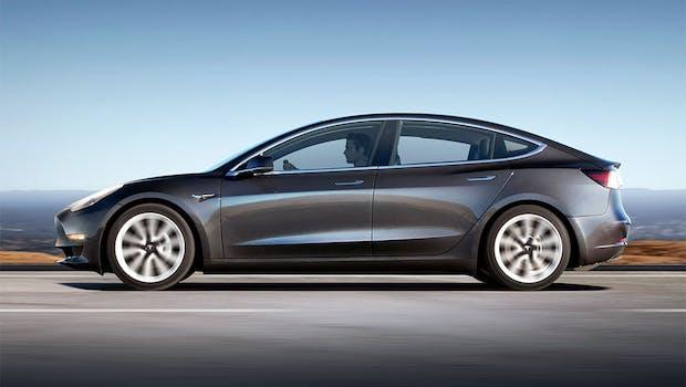 Tesla Model 3. (Bild: Tesla)