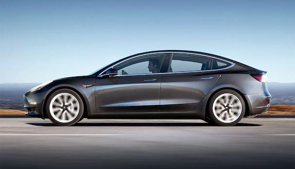 Tesla Model 3 treibt Elektroauto-Markt