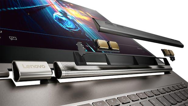Neues Yoga C930 von Lenovo kommt mit Alexa und Soundbar