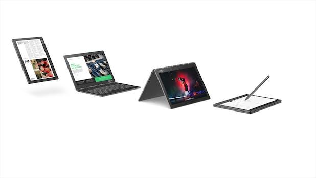 Ultrakompaktes Dual-Display-Notebook mit E-Ink-Panel – Yogabook C930 von Lenovo