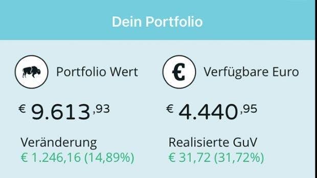 Handel mit Kryptowährungen: Die Bison-App soll im Herbst an den Start gehen. (Screenshot: Bison)