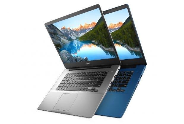 Auch die Dell-Notebooks der Serie Inspiron 15 5000 erhalten die neuen Intel-Prozessoren der achten Generation, genannt Whiskey Lake. (Bild: Dell)