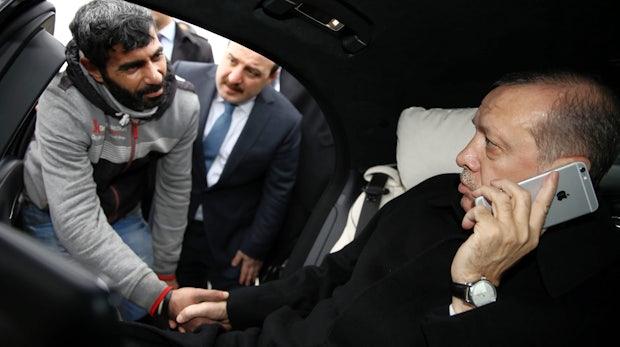Erdogan kündigt Boykott von Elektronik aus den USA an