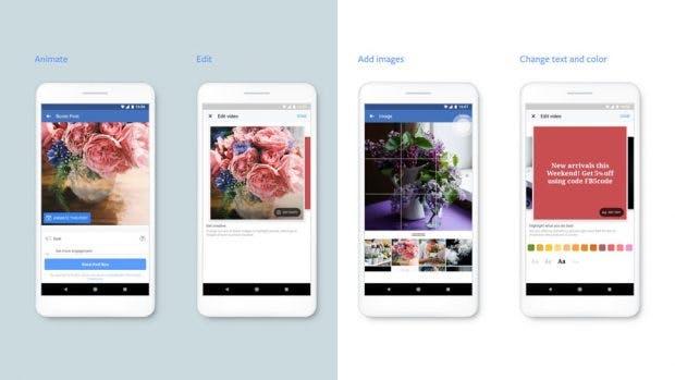 Neue Tools sollen die Erstellung von Videowerbung für den Mobile-Bereich vereinfachen. (Grafik: Facebook)