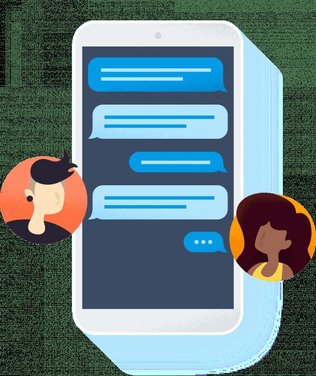 Mit der Kombination verschiedener Firebase-Produkten können verschiedenste Use-Cases umgesetzt werden. Wie das Implementieren einer Chat-Funktion. (Grafik: Google)