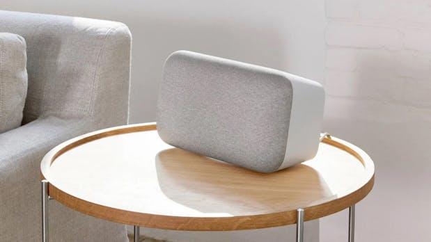 Google Home Max im Test: Smarter Speaker mit viel Wumms