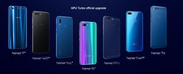 Nicht nur Smartphones von Huawei, auch Honor-Modelle bekommen das GPU-Turbo-Update. (Bild. Honor)