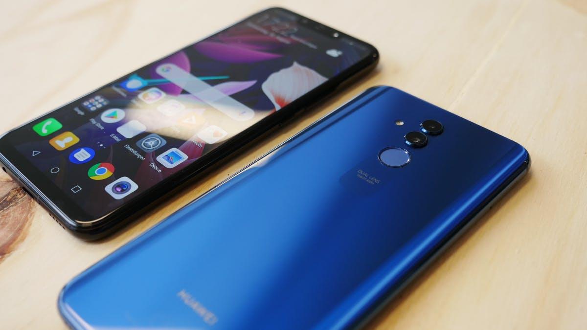 Huawei Mate 20 Lite kommt mit 4 Kameras und GPU-Turbo