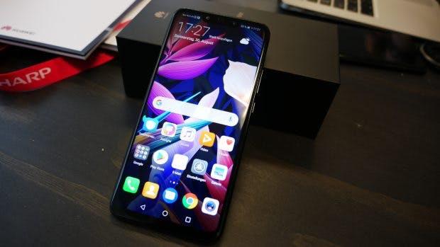 Auf dem Huawei Mate 20 Lite ist noch Android 8.1 Oreo vorinstalliert. (Foto: t3n.de)