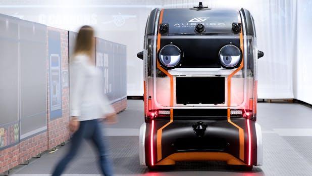 Guck mal, wer da bremst: Kulleraugen sollen das Vertrauen in autonome Fahrzeuge steigern